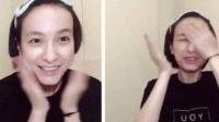 吴昕素颜示范护肤程序 暴力拍脸用嘴咬瓶盖变女汉子