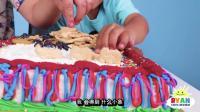 挑战给蛋糕增加更多的糖果