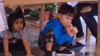 大麟子不愿担责, 钻桌子底下去了, 包文婧想出了一个好办法