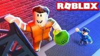 小格解说 Roblox越狱: 新载具百万武装直升机! 珠宝店抢21克拉钻石! 乐高小游戏