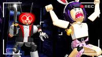 【屌德斯&小熙】 Roblox小游戏派对 刺激的黑暗追逐者游戏和水果榨汁机大乱斗!