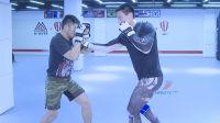 格斗教室-UFC宋克南教学-假动作抱摔与拳法衔接的技术演变