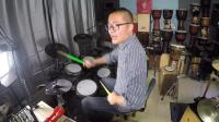 凯文先生《逆战》架子鼓演奏爵士鼓