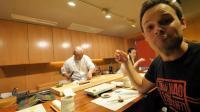 吃货老外在日本寿司店吃寿司, 每道菜全打满分, 看看都吃了什么?