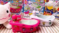 【屌德斯小熙玩具屋Vlog】DIY日本食玩糖 泡泡浴缸饮料! 泡泡真的可以从喷嘴喷出来!