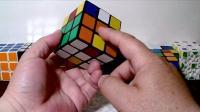 不用背公式三阶魔方桥式解法第一步