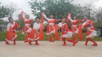 广州飘雪广场舞《西藏行》原创藏族舞