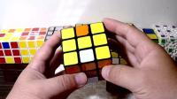 不用背公式三阶魔方桥式解法第三步