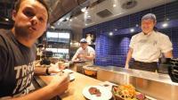 吃货老外在日本, 去高级牛肉料理店, 吃4种牛肉, 吃完全部给满分