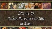 西方美术史-意大利罗马巴洛克油画