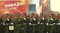 2018年俄罗斯卫国战争胜利日红场阅兵5月6日彩排