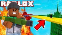 小格解说 Roblox空岛战争: 空中战地模拟器! 捍卫者爆笑摧毁对方基地! 乐高小游戏