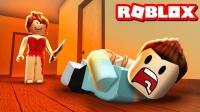小格解说 Roblox拯救红衣女孩: Roblox总部逃生! 拯救女孩第五人格! 乐高小游戏