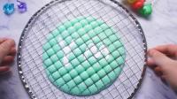用日常用品做明星网格泥, 加一样东西可以拉好长的丝, 无硼砂水