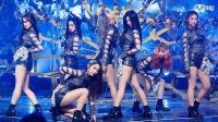 中韩女团DreamCatcher性感撩人暗黑丝带舞