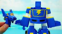 超级飞侠变形玩具 迷你酷飞和会变形的超级赛车