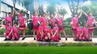 建群村广场舞《风情万种》编舞周周演示建群姐妹2018年最新广场舞带歌词1