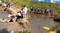 25岁小伙水塘边钓小龙虾 收网时不慎溺亡