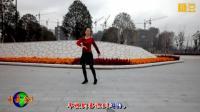 300金华广场舞 麦浪滚滚 简单易学 附背面演示