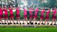建群村广场舞《红红的日子》编舞叶子演示建群姐妹2018年最新广场舞带歌词