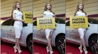 180419 2018 P&I 韩国美女模特 车模 김라영(金洛英)(2