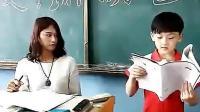 《小明滚出去》老师让小明上台念作文, 作文写的挺好为什么还让他滚出去