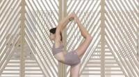 大长腿的瑜伽果真是美艳至极