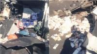 实拍抢匪抢劫运钞车后与警察展开激烈枪战