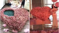 """重庆男子花33万人民币做成""""有钱花"""" 为女友庆生"""