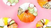 火爆日本美食甜品, 寿司和甜甜圈的相爱, 减肥和美食两不误!