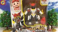 宇宙英雄玩猪猪大侠五灵卫火焰鹤变形玩具