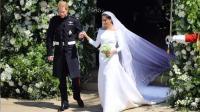 哈里王子大婚完美落幕 进教堂时一句话让人笑喷
