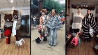【抖音挑战排行榜】日本花魁金鱼步 国内网友爆笑模仿 前十名