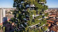 世界首座森林公寓, 种了上万棵植物, 不用交电费, 2千万一套
