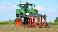 德国又出神器, 大长腿自动拔草, 效率提高百倍, 农民会失业吗