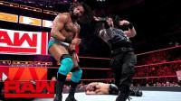 【RAW 05/21】罗门和赛斯vs金德和凯文 输不起的玛哈尔在赛后搞偷袭