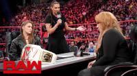 【RAW 05/21】史黛芙妮煽风点火 隆达罗西将在合约阶梯大赛对战奈亚