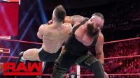 【RAW 05/21】巴洛尔很有胆量 掌掴人间怪兽 结果不出意外 被惨虐!
