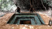 原始技术寻找地下水, 挖一口水井可长期使用, 有喝不完的干净水