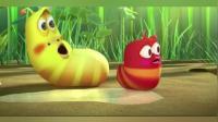 爆笑虫子: 生活在草丛中的黄虫是很霸道的, 炸晕螳螂还抢虫的戒指