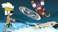 王者荣耀搞笑小动画: 夏侯惇的新交通工具