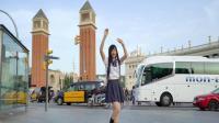 在国外的大街上跳舞, 会有外国人点赞吗! ! !