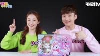AITOYS韩国进口化妆的猫咪妆扮的猫咪小玲玩具涂色猫咪涂色玩具