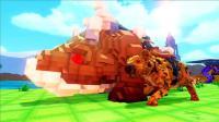 【虾米】方舟: 方块世界EP24, 巨岩龙和洞鬓狗!