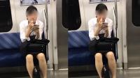 """倒胃口! 女子地铁偷挖鼻孔 随后竟还""""舔一舔"""""""
