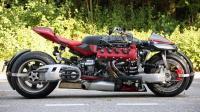 全球仅10台卖136万, 四轮摩托装玛莎拉蒂跑车引擎, 速度太快无人敢测