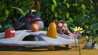 爆笑虫子之汽车轮盘: 虫虫们被困轮盘, 贪吃爆笑探险马路!