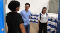 中国人在非洲的油漆厂, 艰苦创业, 没有品牌不知出路