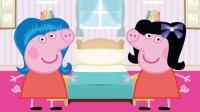 和小猪佩奇一起学儿童英语小猪佩奇七彩发型英语理发真么说少儿英语快乐英语ABC