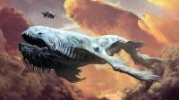 宇宙第一巨型生物《利维坦》被人类用超高科技捕捉, 结局惨败!